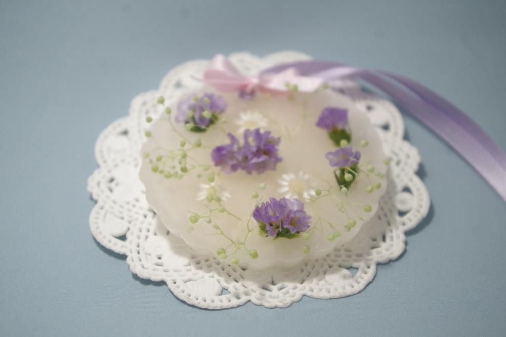 #0009 Lilac polka dot